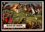 1962 Topps Civil War News #22  Wave of Death  Front Thumbnail