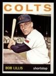 1964 Topps #321  Bob Lillis  Front Thumbnail