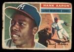 1956 Topps #31  Hank Aaron  Front Thumbnail