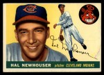 1955 Topps #24   Hal Newhouser Front Thumbnail