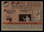 1958 Topps #69  Wally Burnette  Back Thumbnail