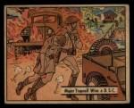 1941 Gum Inc. War Gum #35  Major Trapnell Wins D.S.C.  Front Thumbnail