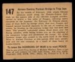 1938 Gum Inc. Horrors of War #147   Airmen Destroy Pontoon Bridge to Trap Japs Back Thumbnail