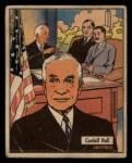1941 Gum Inc. War Gum #7   Cordell Hull Front Thumbnail