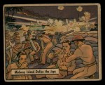 1941 Gum Inc. War Gum #44  Midway Island Defies The Japanese  Front Thumbnail