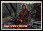 1956 Topps Davy Crockett #28 ORG Davy Senses Trouble   -    Front Thumbnail