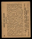 1941 Gum Inc. Uncle Sam Home Defense #18  Navigation  Back Thumbnail