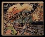 1938 Gum Inc. Horrors of War #70   Subway Blast Kills Madrid Civilians Front Thumbnail