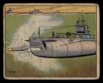 1941 Gum Inc. Uncle Sam Home Defense #58  Submarine Torpedo Practice  Front Thumbnail