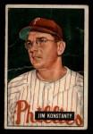1951 Bowman #27  Jim Konstanty  Front Thumbnail