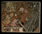 1941 Gum Inc. War Gum #30   Commandos Bag Japanese General Front Thumbnail
