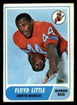 1968 Topps #173  Floyd Little  Front Thumbnail