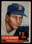 1953 Topps #44   Ellis Kinder Front Thumbnail