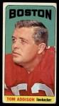 1965 Topps #1   Tom Addison Front Thumbnail