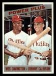 1966 Topps #52  Power Plus  -  Wes Covington / Johnny Callison Front Thumbnail