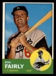 1963 Topps #105 COR  Ron Fairly Front Thumbnail
