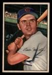 1952 Bowman #32   Eddie Miksis Front Thumbnail