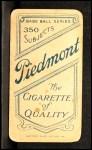 1909 T206 #54 xCAP  Al Bridwell Back Thumbnail