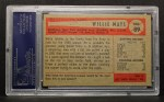 1954 Bowman #89   Willie Mays Back Thumbnail