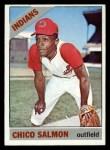 1966 Topps #594   Chico Salmon Front Thumbnail