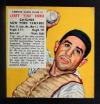 1953 Red Man #3 ALx Yogi Berra  Front Thumbnail