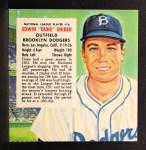 1954 Red Man #16 NLx  Duke Snider Front Thumbnail
