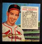 1954 Red Man #19 NLx  Enos Slaughter Front Thumbnail