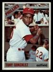 1966 Topps #478   Tony Gonzalez Front Thumbnail