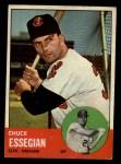 1963 Topps #103   Chuck Essegian Front Thumbnail