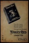 1910 T3 Turkey Red #123   Ira Thomas  Back Thumbnail