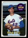 1969 Topps #72  Ron Taylor  Front Thumbnail