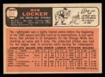 1966 Topps #374   Bob Locker Back Thumbnail