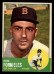 1963 Topps #28 YEL  Mike Fornieles Front Thumbnail