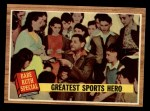 1962 Topps #143 GRN Greatest Sports Hero  -  Babe Ruth Front Thumbnail