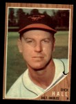 1962 Topps #189 GRN  Dick Hall Front Thumbnail