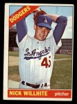 1966 Topps #171   Nick Willhite Front Thumbnail