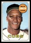 1969 Topps #198   Willie Smith Front Thumbnail