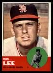 1963 Topps #372 COR  Don Lee Front Thumbnail