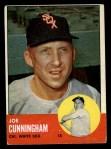 1963 Topps #100   Joe Cunningham Front Thumbnail
