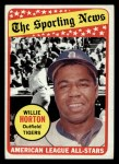 1969 Topps #429  All-Star  -  Willie Horton Front Thumbnail
