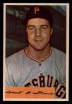 1954 Bowman #43 ERR Bob Friend  Front Thumbnail