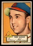 1952 Topps #56 RED  Tommy Glaviano Front Thumbnail