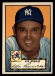 1952 Topps #67 BLK  Allie Reynolds Front Thumbnail