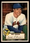 1952 Topps #32 RED  Eddie Robinson Front Thumbnail