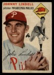 1954 Topps #51  Johnny Lindell  Front Thumbnail