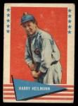 1961 Fleer #42   Harry Heilman Front Thumbnail