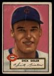 1952 Topps #113  Dick Sisler  Front Thumbnail