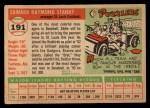 1955 Topps #191   Eddie Stanky Back Thumbnail