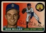 1955 Topps #9   Bob Miller Front Thumbnail