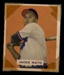 1949 Bowman #228  Jackie Mayo  Front Thumbnail